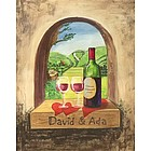 Italian Vineyards for Two Fine Art Print