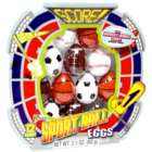 Sport Ball Candy-Filled Easter Eggs