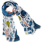 Chaco Canyon Art Scarf