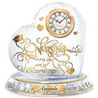 Nursing Is The Art Of Caring Crystal Personalized Clock