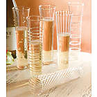 Hand Blown Mimosa Flute Glasses