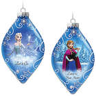 Frozen Elsa and Anna Christmas Tree Ornaments
