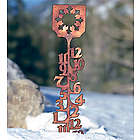 Handcrafted Copper-Plated Snow Gauge