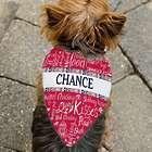 Personalized Dog Doodle Pet Bandanna