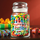 Personalized Birthday Treat Jar