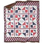 Fabric of Our Family Americana Style Blanket