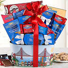 Ghirardelli Milk and Dark Chocolate Assortment Gift Basket