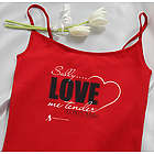 Personalized Love Me Tender Camisole