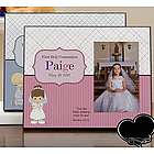Personalized Precious Moments First Communion Picture Frame