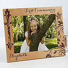 First Communion Personalized Religious Wood Picture Frame