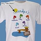 Fishing Buddies Personalized T-Shirt