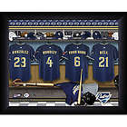 Personalized San Diego Padres Locker Room Print