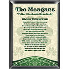 Personalized Bless This House Irish Family Sign