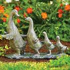 Duck Parade Garden Statues