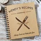 Personalized Farmhouse Kitchen Recipe Book