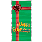 """Happy Holidays"" Christmas Door Cover"