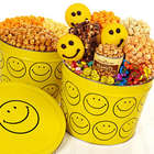 3-Way Smiley Popcorn 2 Gallon Tin