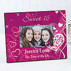Sweet Sixteen Personalized Birthday Picture Frame