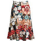 Angela Floral Circle Skirt