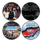 AC/DC Vinyl Revolution Wall Art Collection
