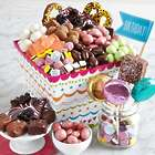 Deluxe Birthday Sweets in a Gift Basket