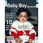 Baby Boy Magazine Cover Print