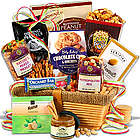 Buttered Peanut Crunch and Cookies Gourmet Basket