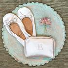 Ballet Flats with Personalized Carrying Case