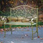 Leafy Greens Garden Bench