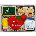 """Thank You, Teacher"" Sugar Cookie Gift Tin"