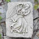 Elegant Angel Garden Plaque