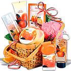 Women's Mandarin Spa Gift Basket
