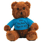 Ring Bearer's Plush Teddy Bear with Personalized T-Shirt