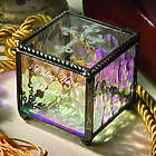 Cross Stained Glass Box