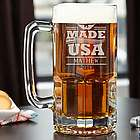 Colossal USA Made Personalized Beer Mug