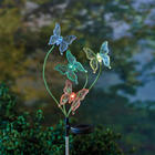 Color Changing Butterfly Garden Stake