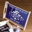 Martini Horizon Personalized Serving Tray