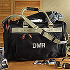 Monogrammed Weekend Getaway Duffel Bag