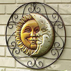 Sun and Moon Face Wall Hanging