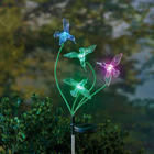 Color Changing Hummingbird Garden Stake