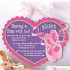 Personalized Dancing in Step Plaque