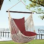 Rope Hammock Swing with Cushions