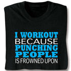I Workout T-Shirt