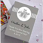 Personalized Wedding Bells Wedding Favor Playing Cards
