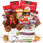 Valentine's Day Snack Gift Basket for Kids