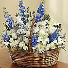 Heavenly Angel Sympathy Flower Basket
