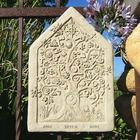 Cast-Stone One Earth Tablet Wall Hanging
