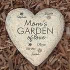 Mom's Garden of Love Personalized Garden Stone