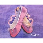 Tip Toe Ballerina Fine Art Print