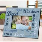 Personalized Hero Dad Picture Frame